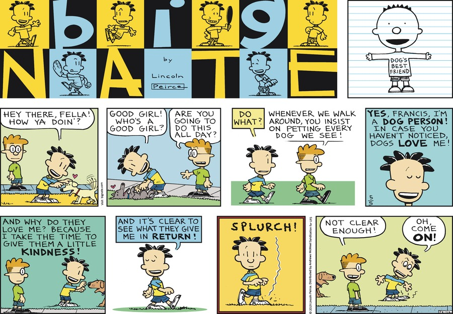 Big Nate by Lincoln Peirce for May 05, 2019