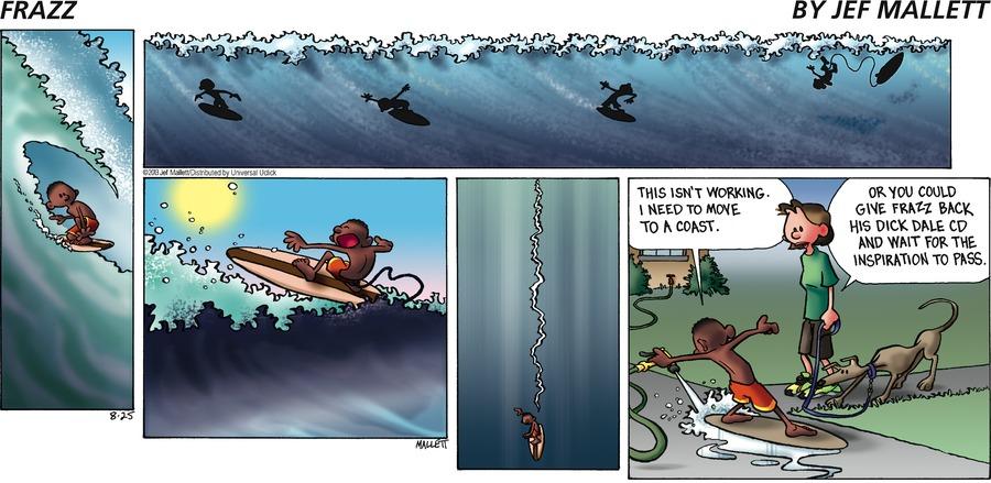 Frazz for Aug 25, 2013 Comic Strip