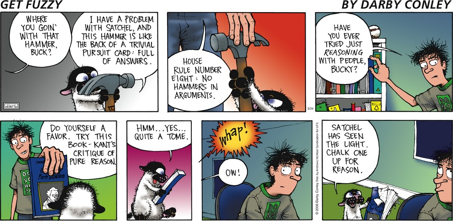 Get Fuzzy Comic Strip for March 24, 2019