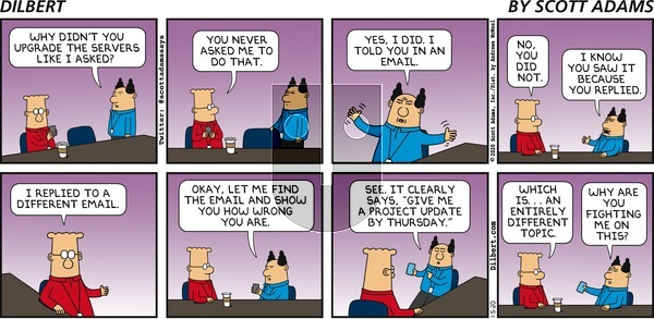 Dilbert on Sunday January 5, 2020 Comic Strip