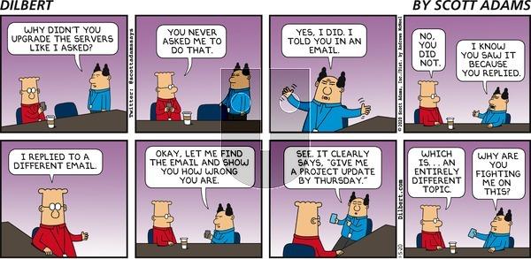 Dilbert - Sunday January 5, 2020 Comic Strip