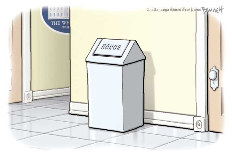 Clay Bennett by Clay Bennett on Fri, 06 Dec 2019