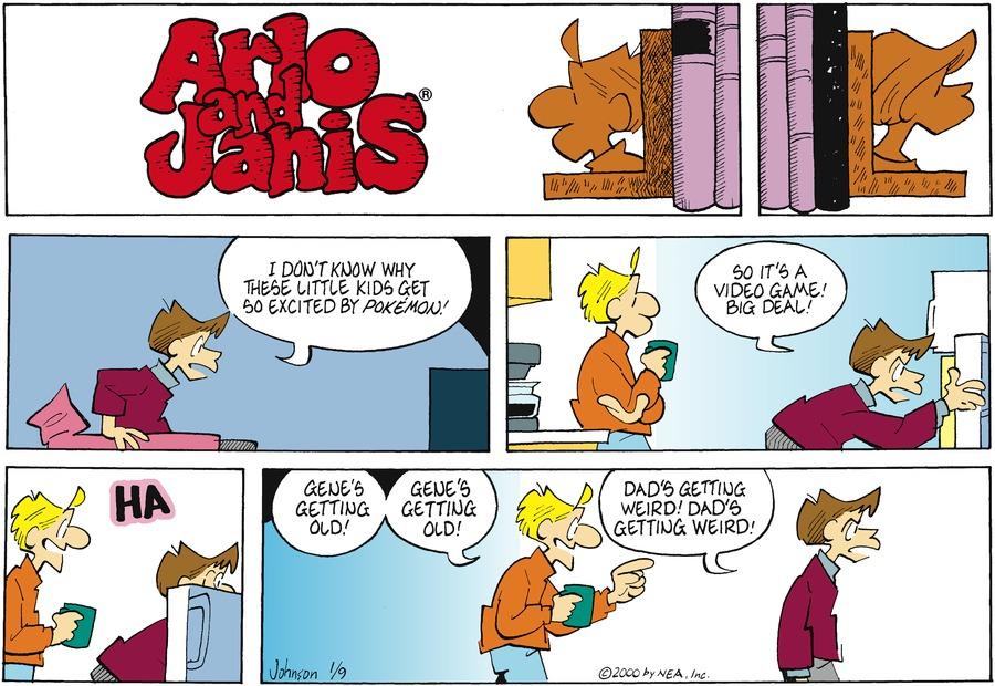 Arlo and Janis for Jan 9, 2000 Comic Strip