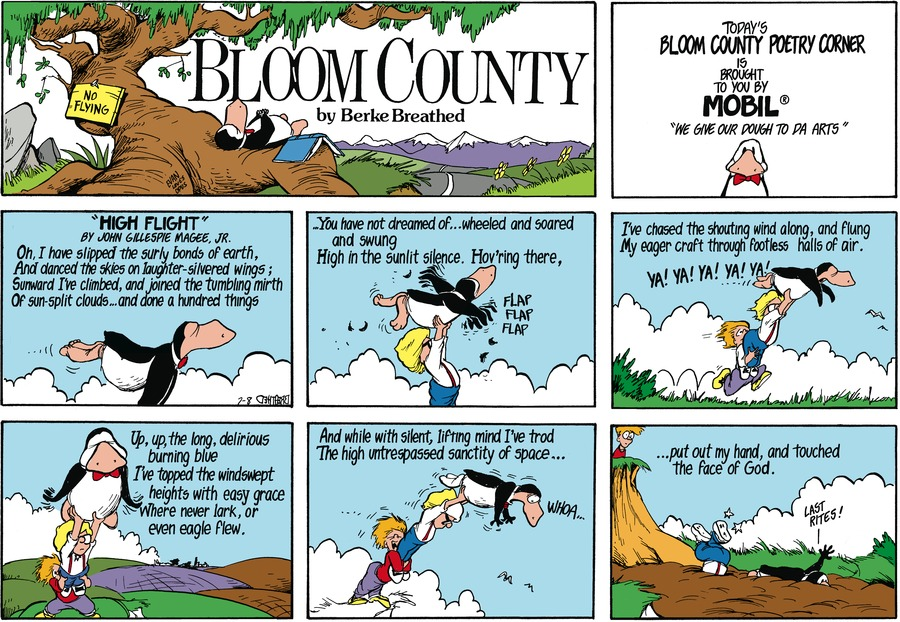 Bloom County for Jul 8, 1984 Comic Strip
