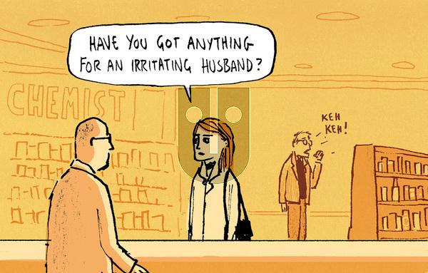 Berger & Wyse on Monday February 6, 2017 Comic Strip