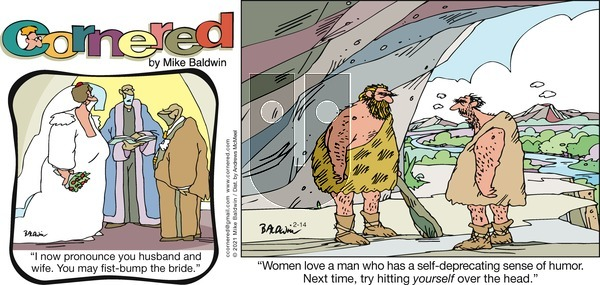 Cornered on Sunday February 14, 2021 Comic Strip