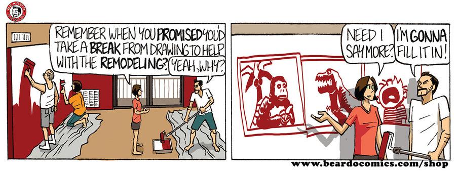 Beardo Comic Strip for April 23, 2019