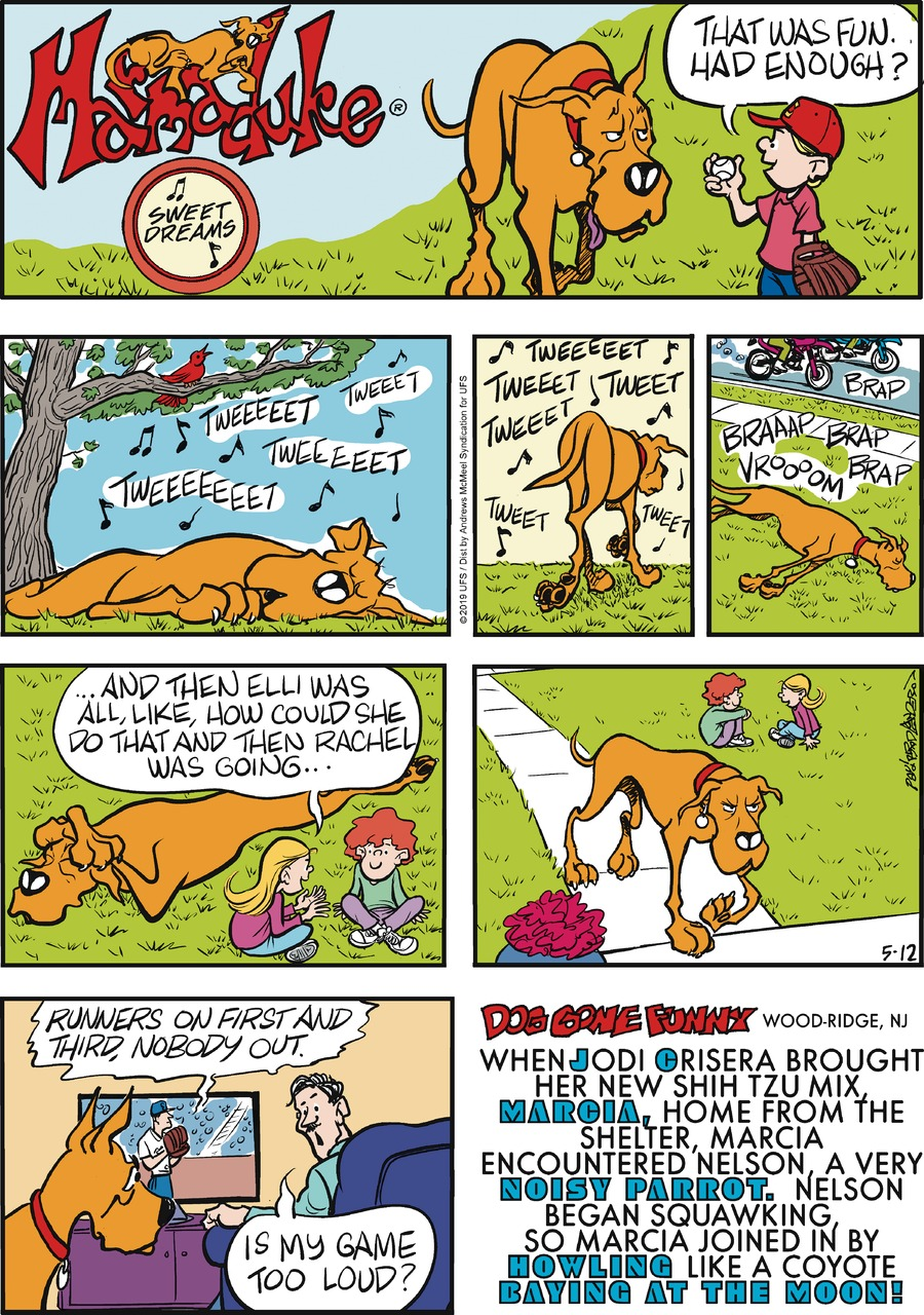 Marmaduke Comic Strip for May 12, 2019