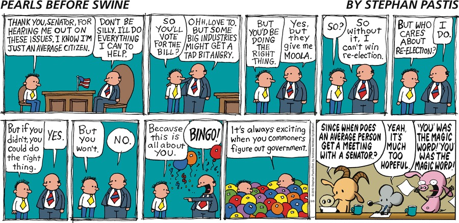 Pearls Before Swine Comic Strip for September 08, 2019