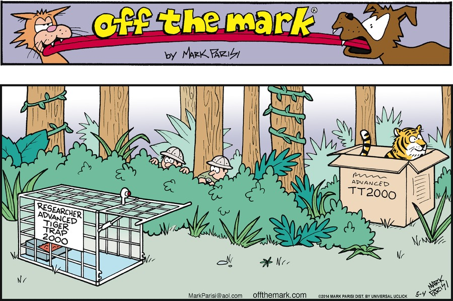Off the Mark for May 4, 2014 Comic Strip