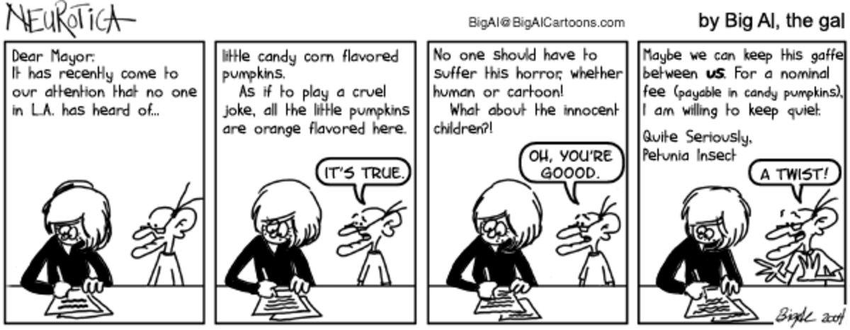 NEUROTICA for Nov 17, 2013 Comic Strip