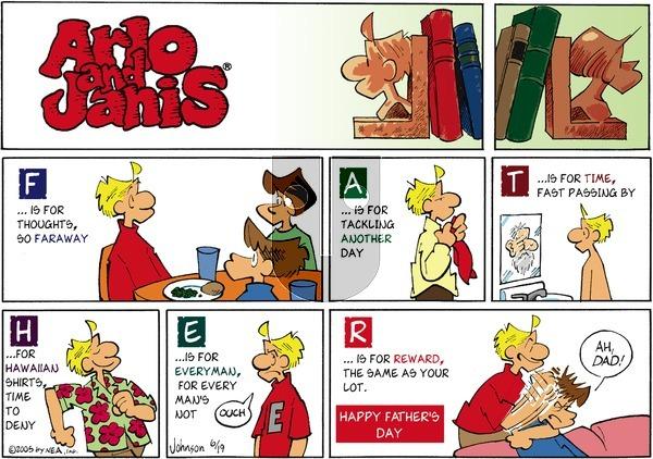 Arlo and Janis on Sunday June 19, 2005 Comic Strip