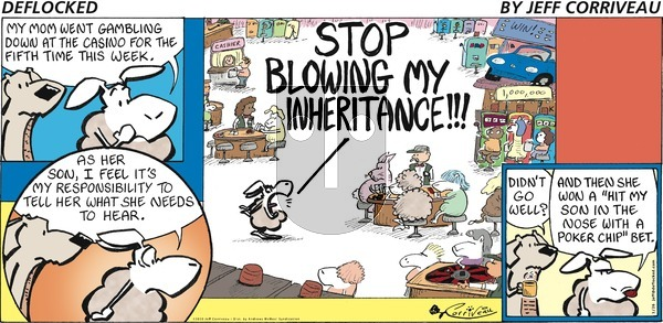 DeFlocked on Sunday January 26, 2020 Comic Strip