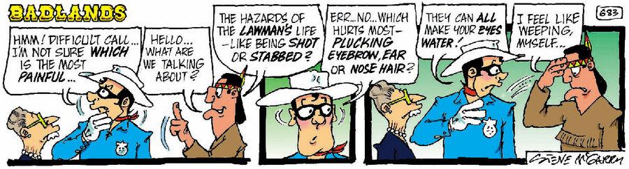 Badlands Comic Strip for January 14, 2021