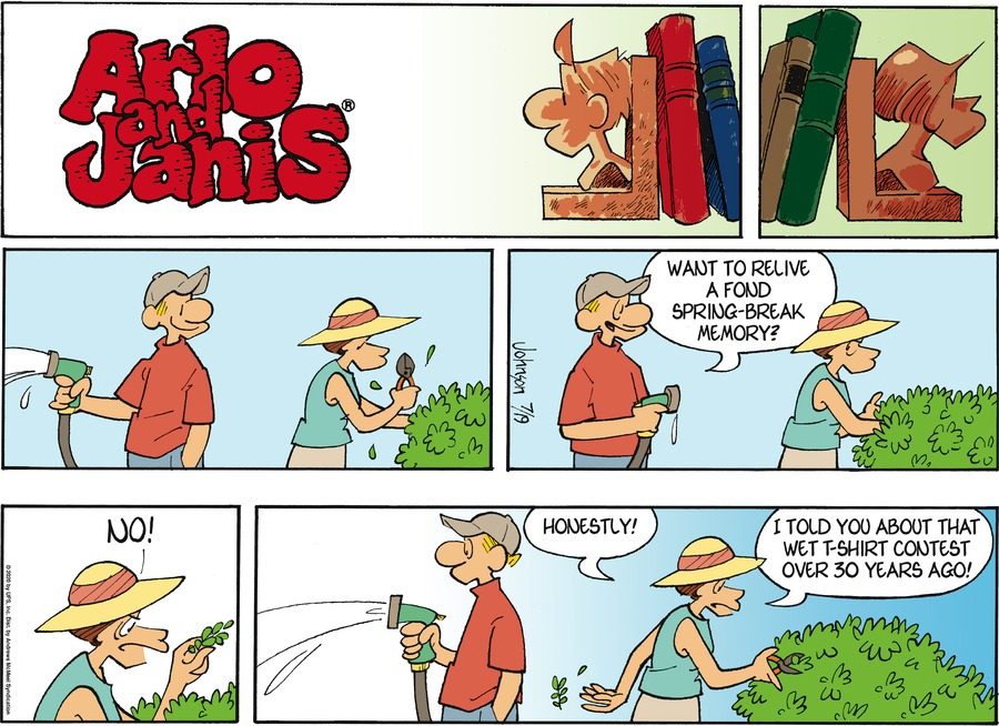 Arlo and Janis Comic Strip for July 19, 2020