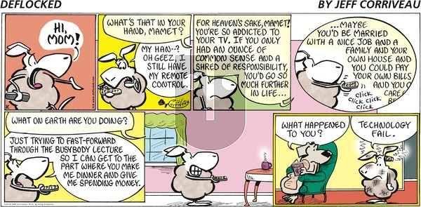 DeFlocked on Sunday April 8, 2018 Comic Strip