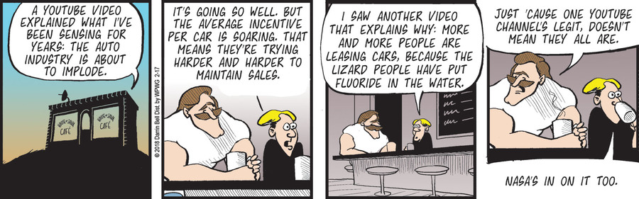 Rudy Park for Feb 17, 2018 Comic Strip