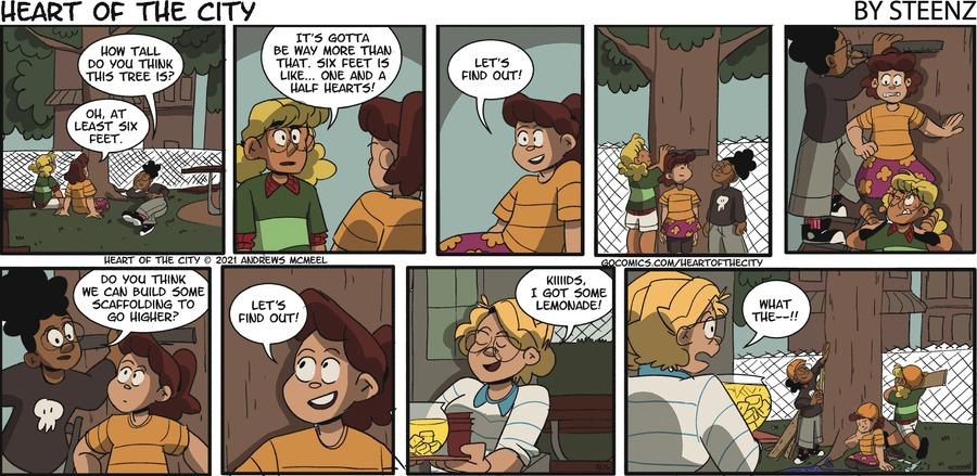 Heart of the City Comic Strip for September 26, 2021