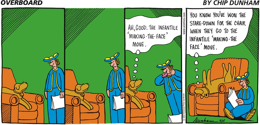 Overboard for Aug 15, 2004 Comic Strip