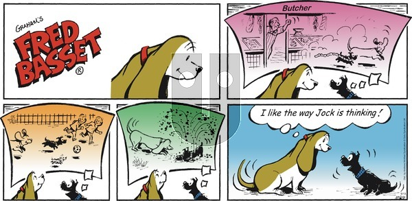 Fred Basset on Sunday September 13, 2020 Comic Strip