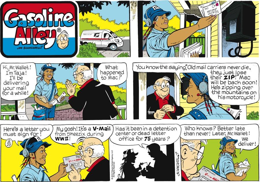 Gasoline Alley Comic Strip for September 29, 2019