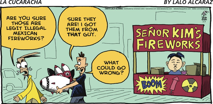 La Cucaracha for Jul 7, 2013 Comic Strip