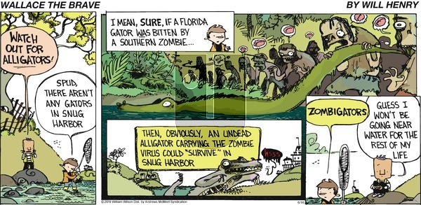 Wallace the Brave on Sunday June 16, 2019 Comic Strip