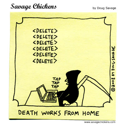 Savage Chickens Comic Strip for June 25, 2012