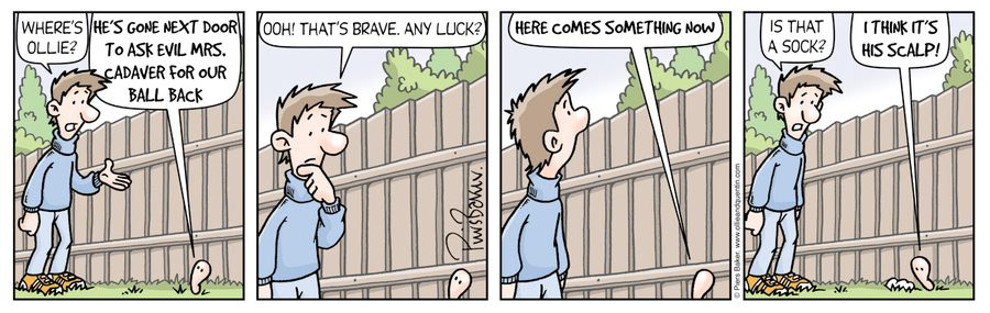 Ollie and Quentin Comic Strip for January 21, 2013
