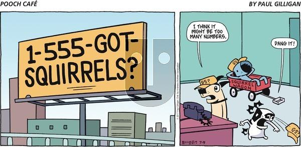 Pooch Cafe on Sunday July 9, 2017 Comic Strip