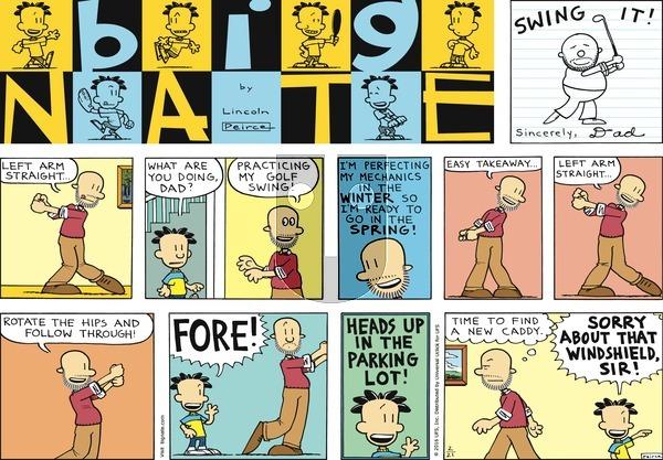 Big Nate on Sunday February 21, 2016 Comic Strip