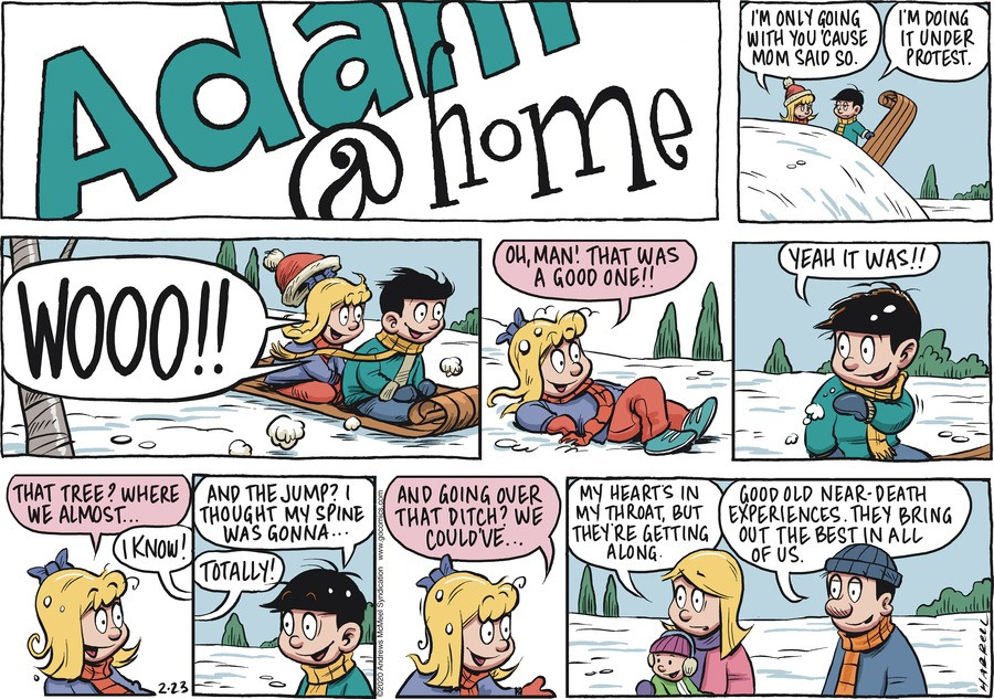 Adam@Home Comic Strip for February 23, 2020