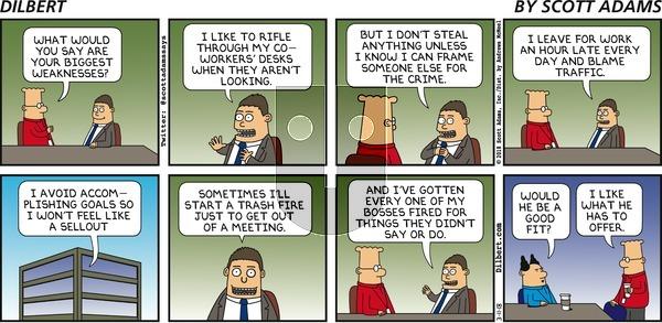 Dilbert on Sunday March 11, 2018 Comic Strip