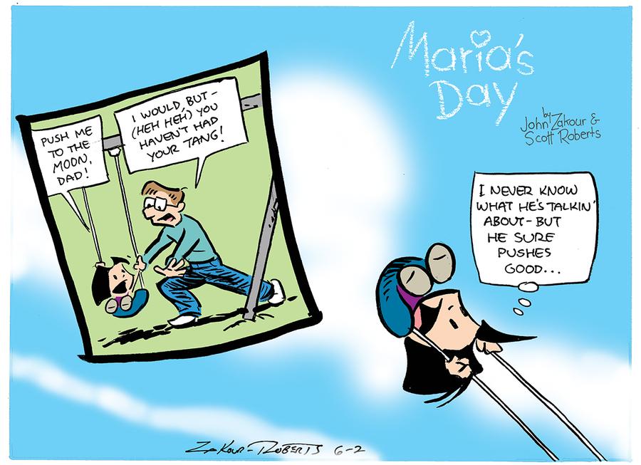 Maria's Day for Jun 2, 2013 Comic Strip