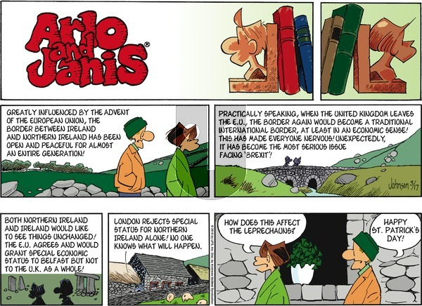 Arlo and Janis on Sunday March 17, 2019 Comic Strip