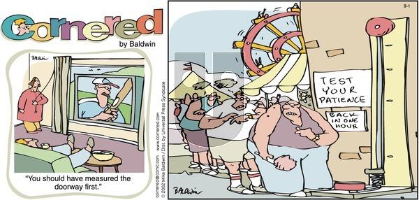 Cornered on Sunday September 1, 2002 Comic Strip