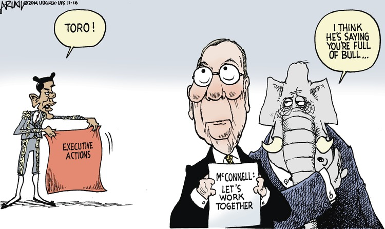 Obama: Toro! Executive actions 