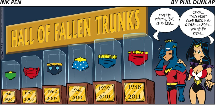 Ink Pen Comic Strip for September 04, 2011