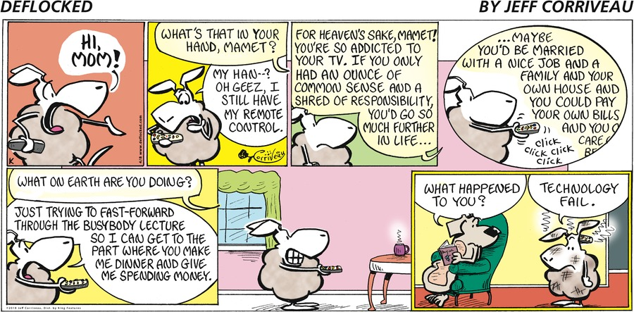 DeFlocked Comic Strip for April 08, 2018