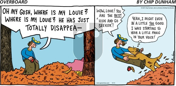Overboard on Sunday October 10, 2021 Comic Strip
