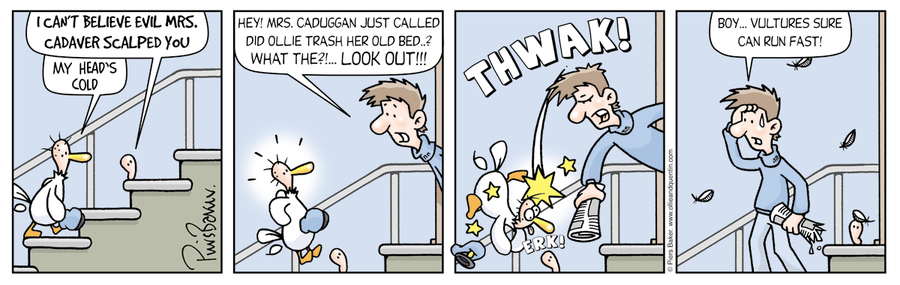 Ollie and Quentin Comic Strip for November 26, 2020