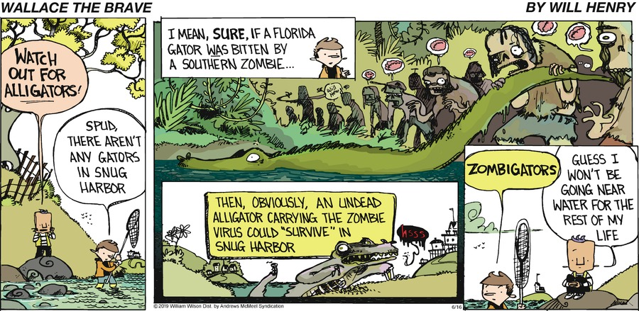 Wallace the Brave Comic Strip for June 16, 2019