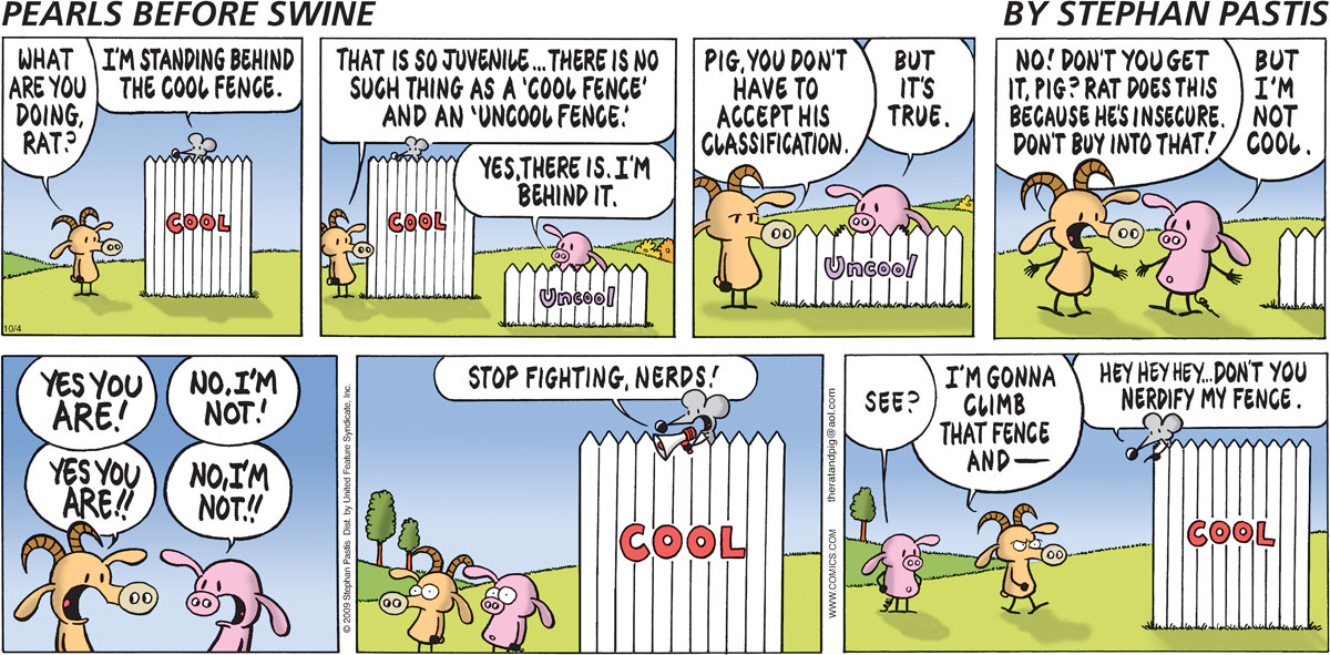 Pearls Before Swine Comic Strip for October 04, 2009
