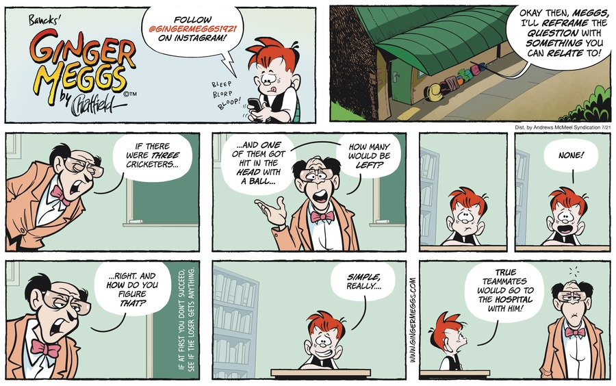 Ginger Meggs Comic Strip for July 21, 2019