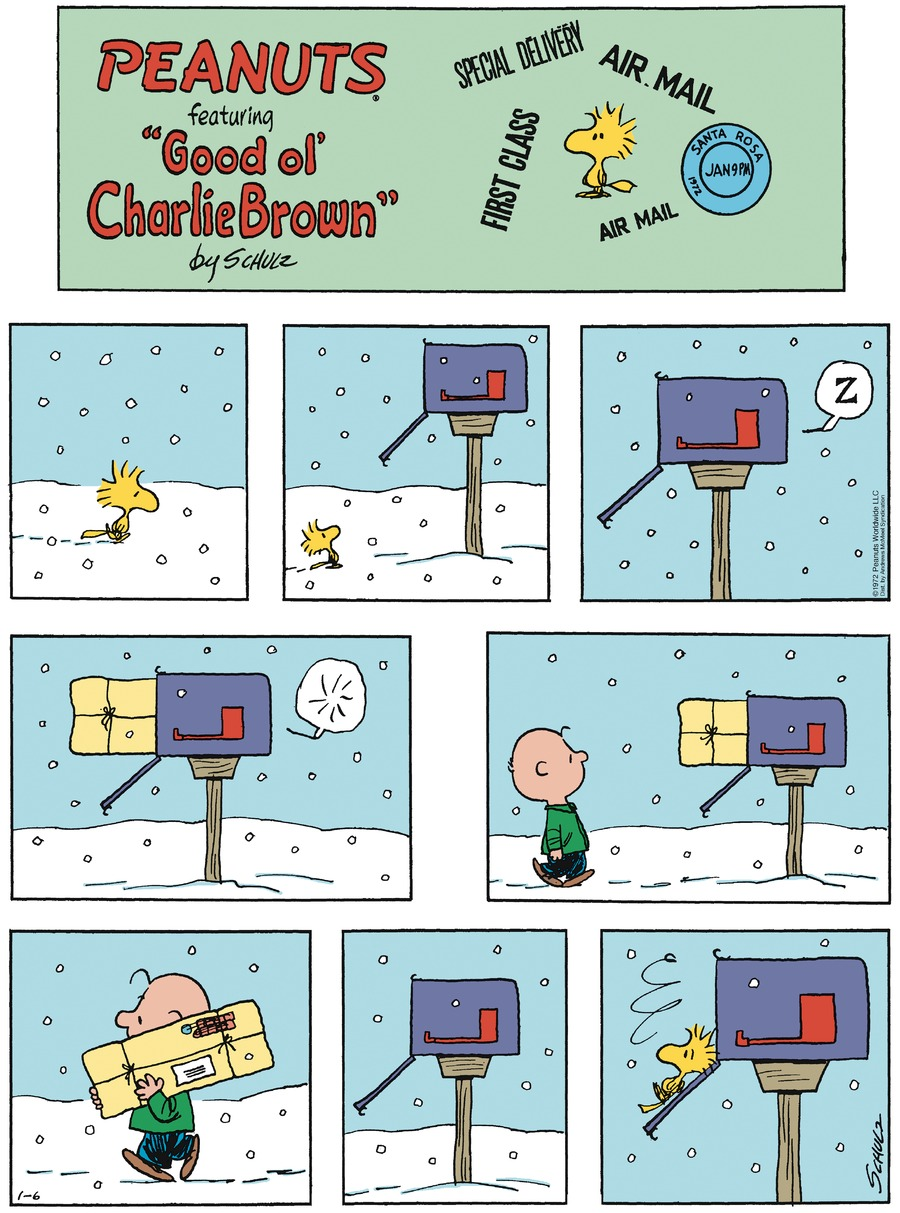 Peanuts by Charles Schulz for January 06, 2019