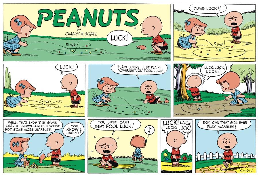 Peanuts Begins Comic Strip for June 28, 2020
