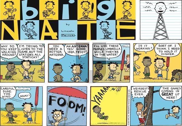 Big Nate - Sunday June 28, 2015 Comic Strip