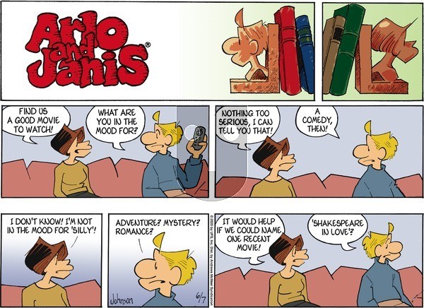 Arlo and Janis - Sunday June 7, 2020 Comic Strip