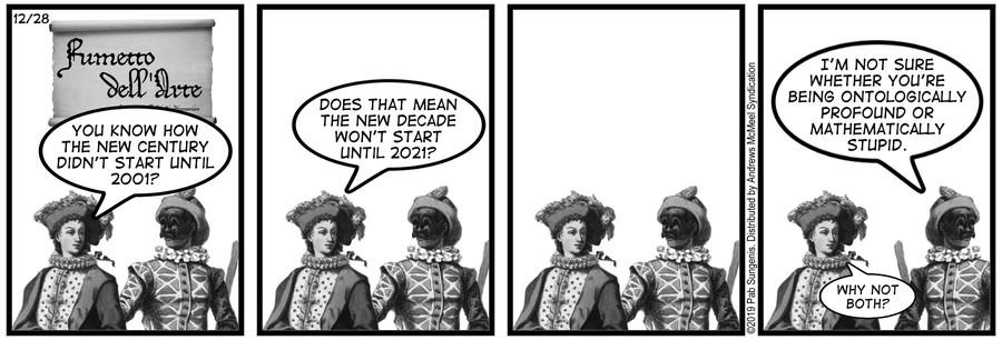 New Adventures of Queen Victoria Comic Strip for December 28, 2019
