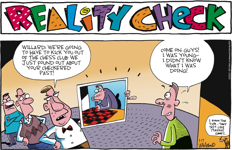 Reality Check for Mar 17, 2013 Comic Strip